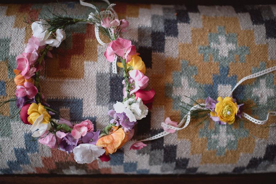Boudoir flower fixture