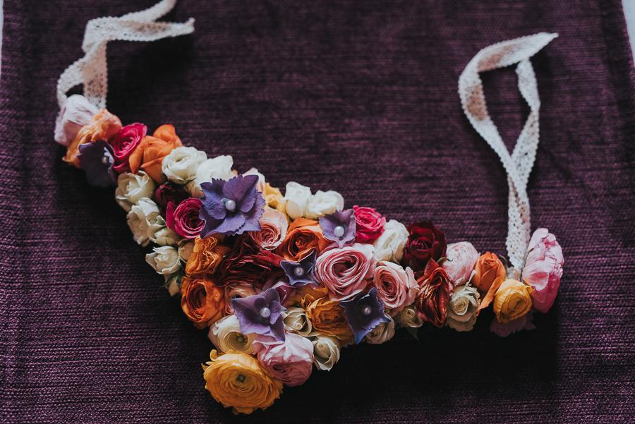 Underwear from flowers
