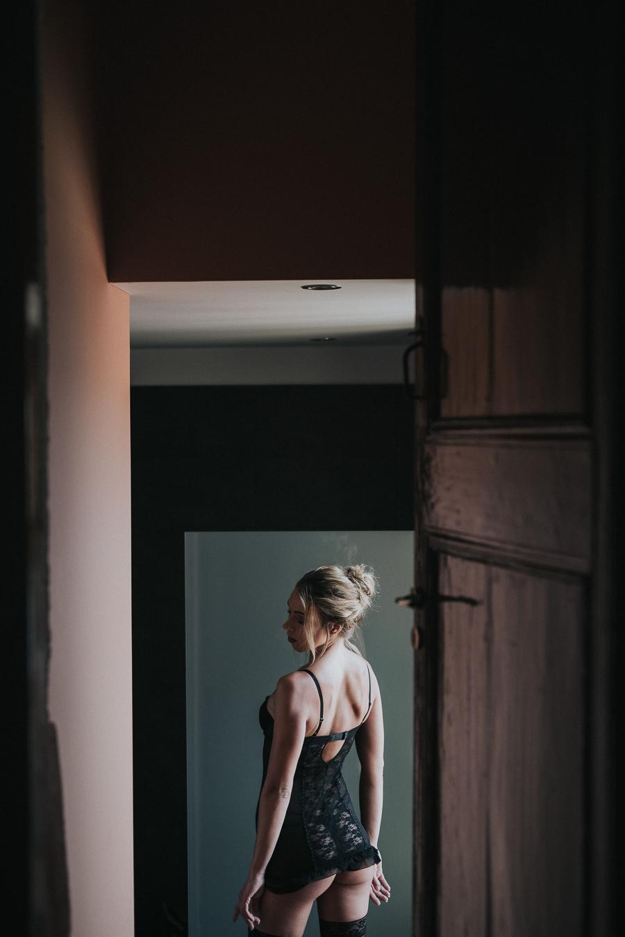 Portrait for doorway