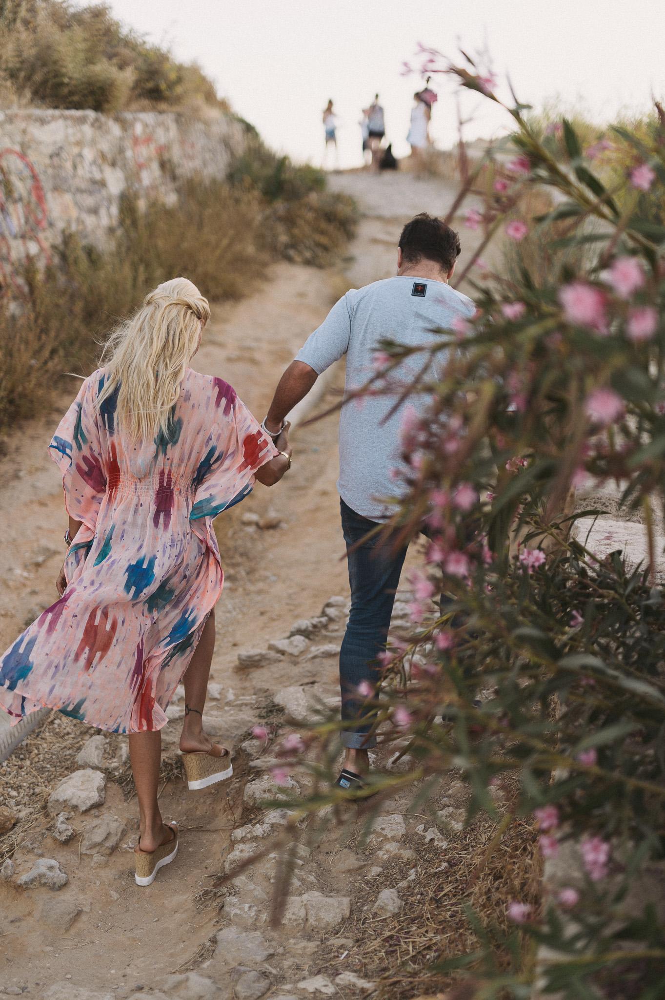 Alexandra Panagiotarou with Aristomenis Giannopoulos couples session in Chania Crete Greece
