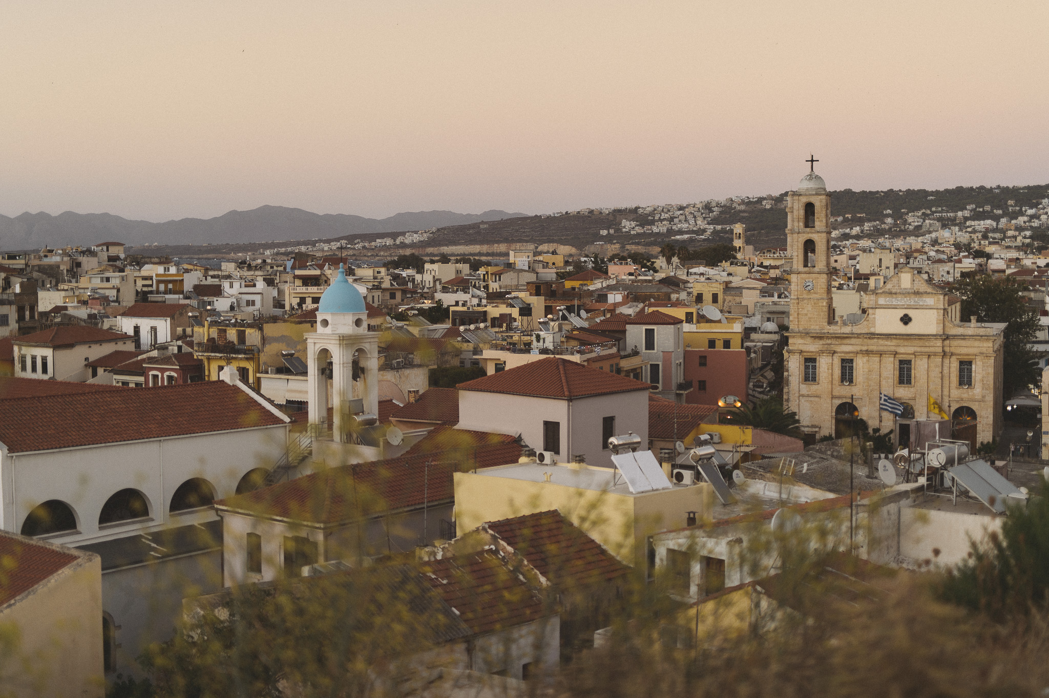 Chania City overview