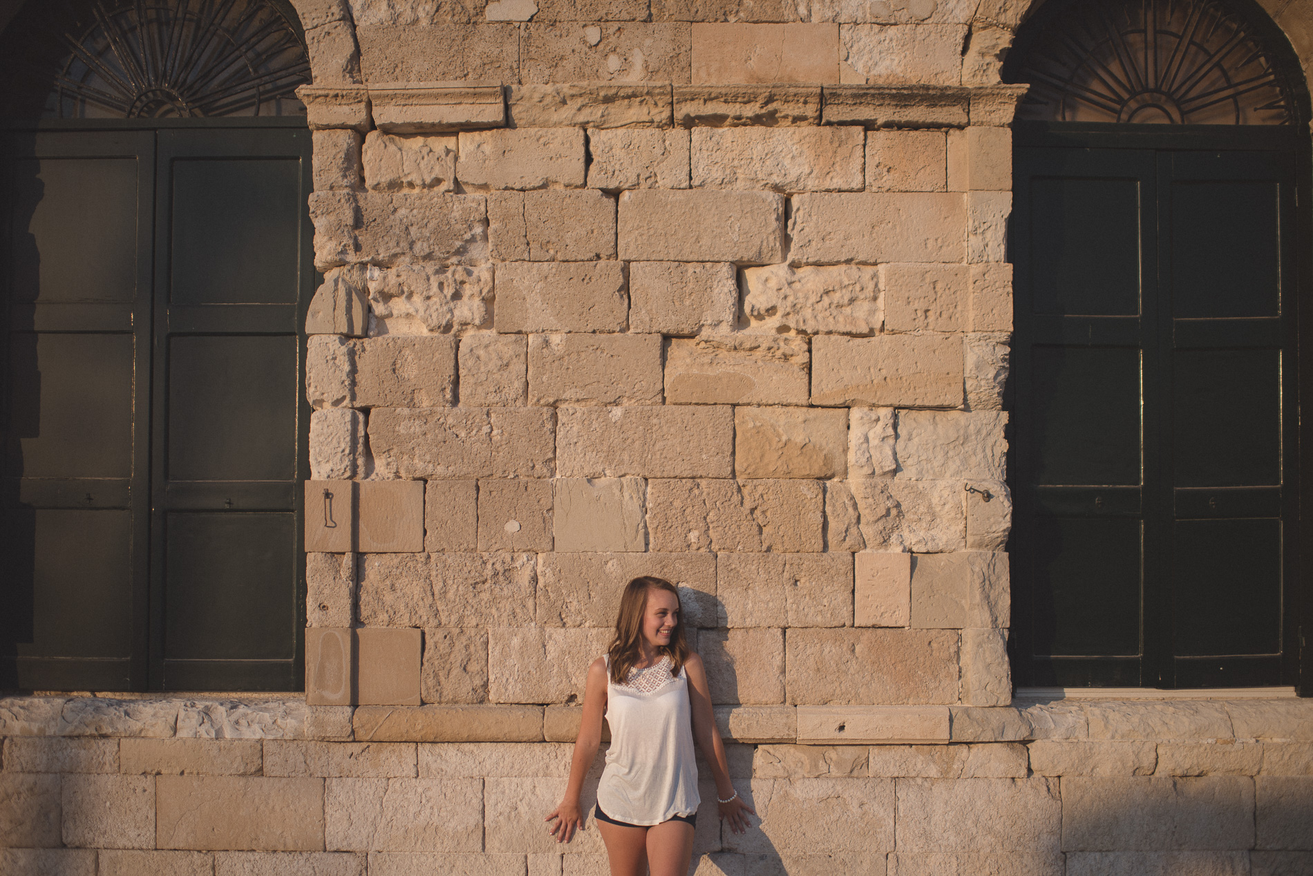 Portrait session in Chania Crete Greece