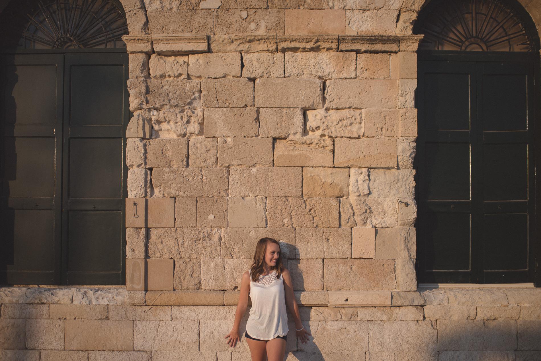 Portrait session in Chania Crete Greece