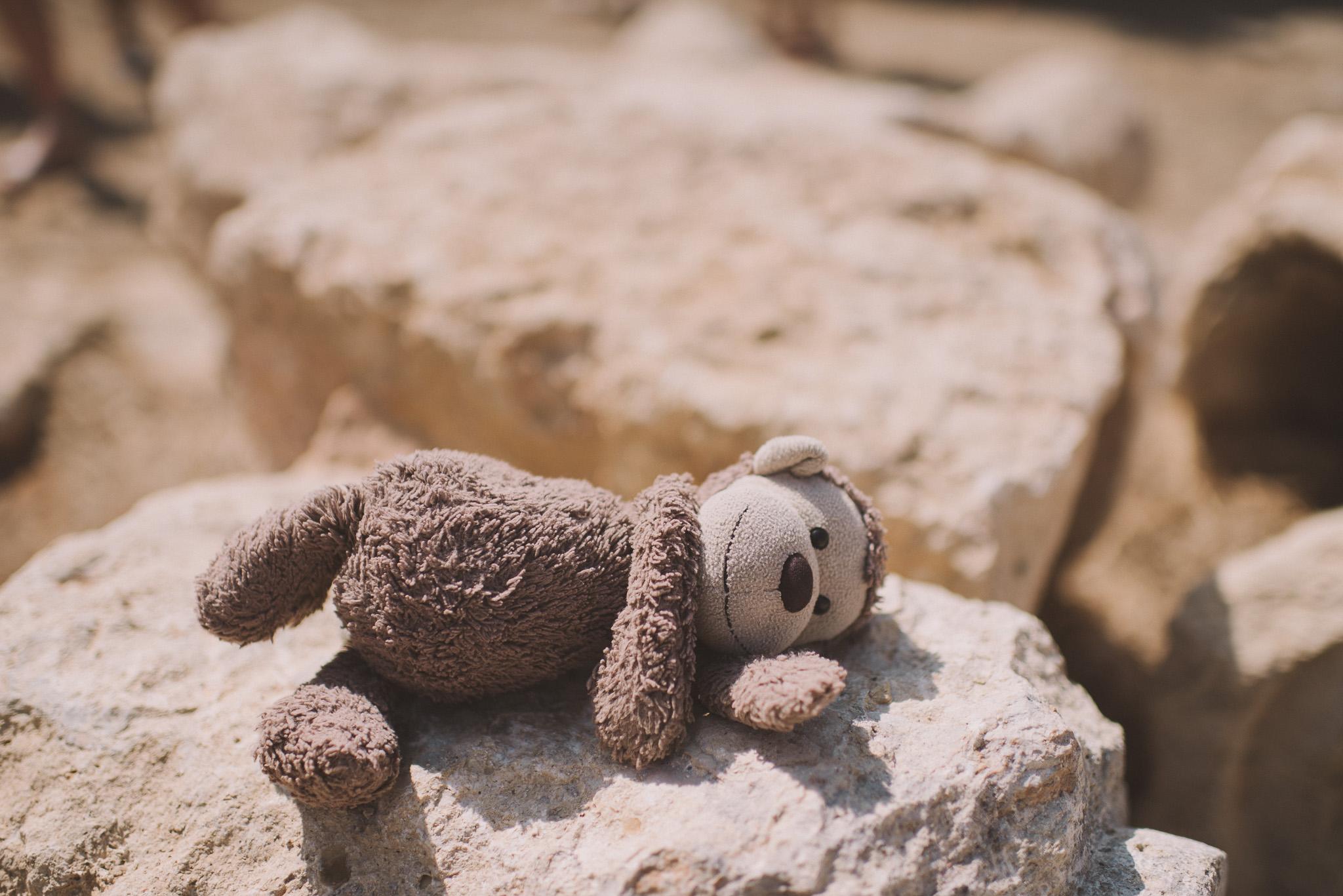 Teddy bear in Rethymno