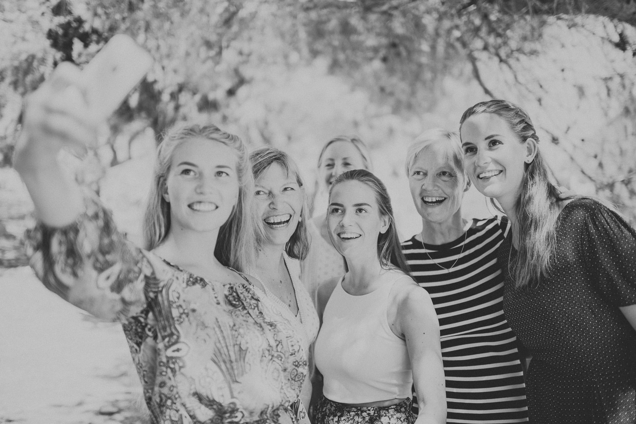 Norwegian family selphie