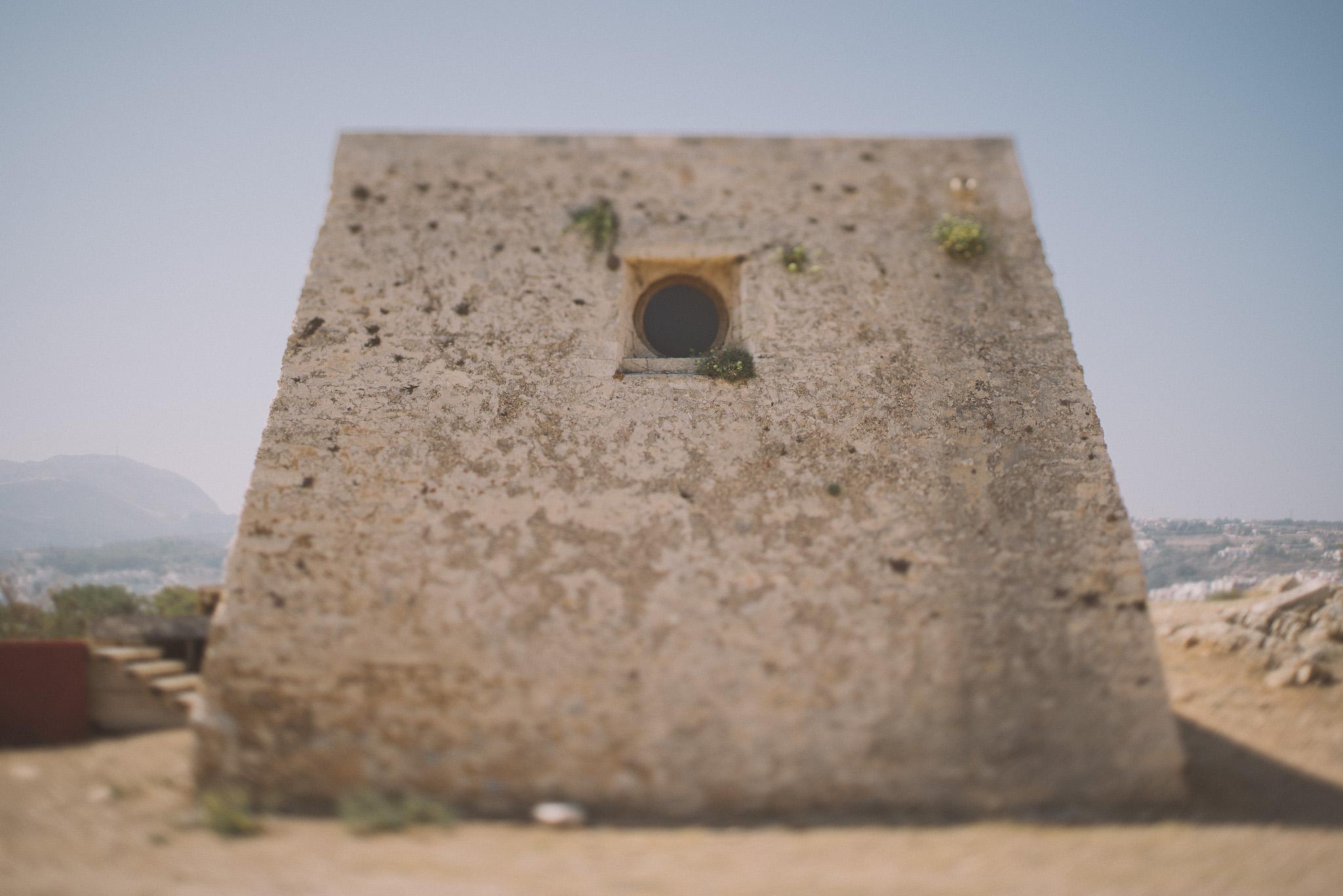Fortezza castle Rethymno Crete Greece
